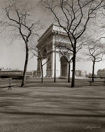 Arc de Triomphe Winter