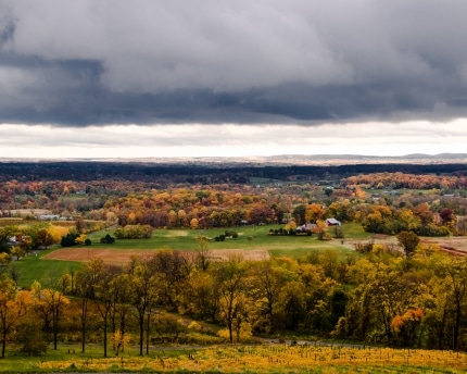 Autumn Storm Loudoun Valley