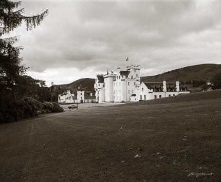 Blair Castle Perthshire Scotland