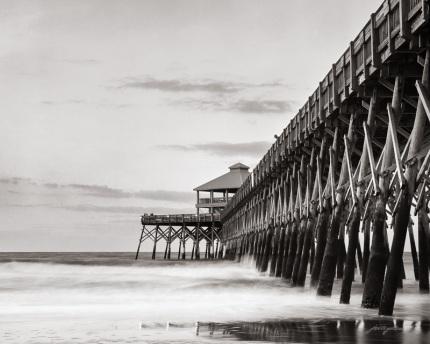 Calm Surf at Folly Pier