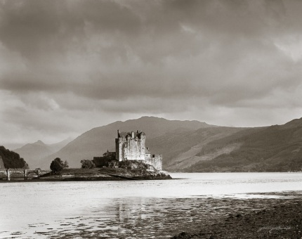 Eilean Donan Castle  During a Clearing Storm