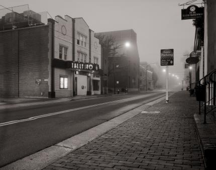Foggy Morning at the Tally Ho