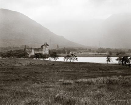 Kilchurn Castle Rain Storm