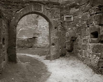 Lane Through an Arch