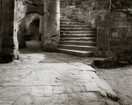 Nanstein Castle Circular Stairway