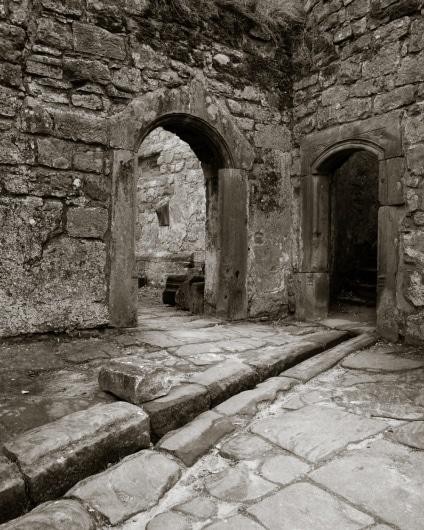 Nanstein Castle Interior with Waterworks