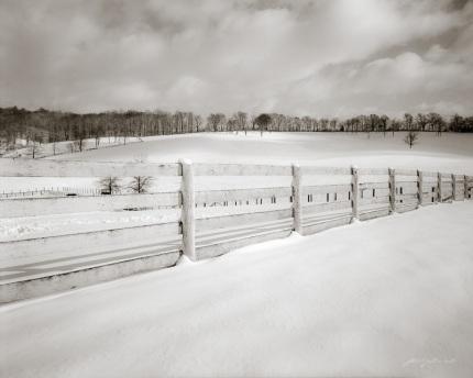 Snickersville Pike in Winter