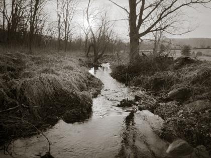 Winter Creek Sunrise