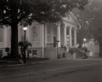 Foggy Morning at Fauquier County Courthouse